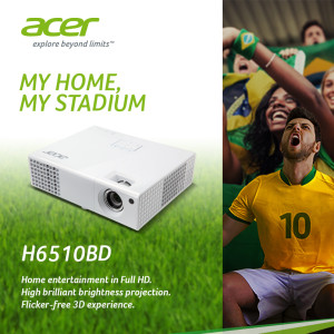 Acer Football Promotion_H6510BD projector