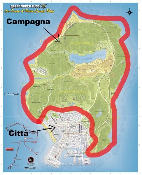 Campagna GTA V