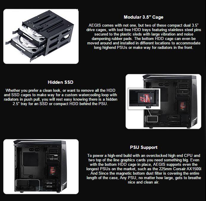 Bitfenix aegis case recensione pagina 2 di 7 hardware for Specifiche home plan