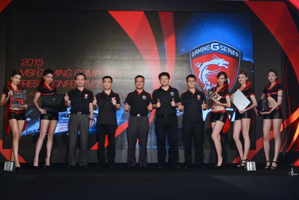 01_Today, MSI highlighted it's exclusive gaming  laptops, motherboards, graphics cards, and All-in-one PCs, etc.