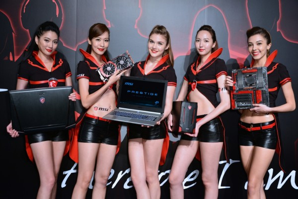 04_Today, MSI highlighted it's exclusive gaming  laptops, motherboards, graphics cards, and All-in-one PCs, etc.