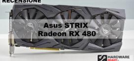 Asus Strix Radeon RX 480 8GB – Recensione