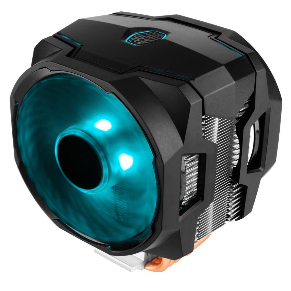 Cooler Master Masterair Ma610p With Dual Rgb Fans Controller Air Maker 8 The Is Directly Descended From It Designed For Gamers And Overclockers Who Demand Ultra Low