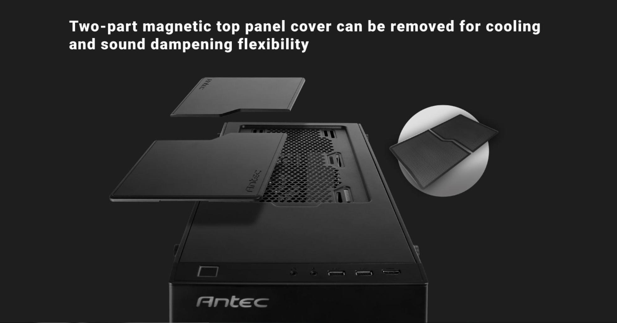 Antec p110 silent recensione pagina 2 di 7 hardware ready for Specifiche home plan
