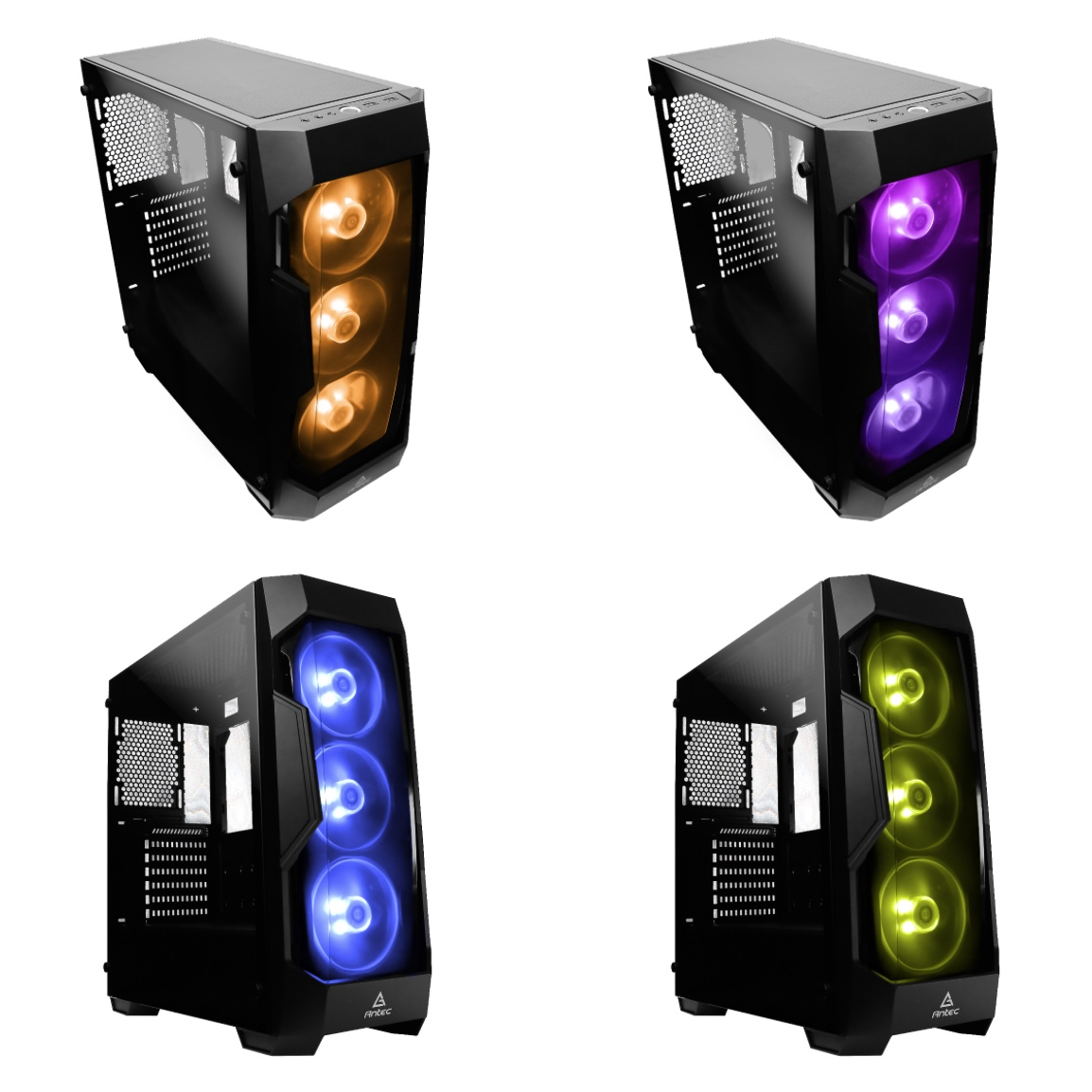 Df500 Rgb Antec Launch Gaming Case With Strong Features