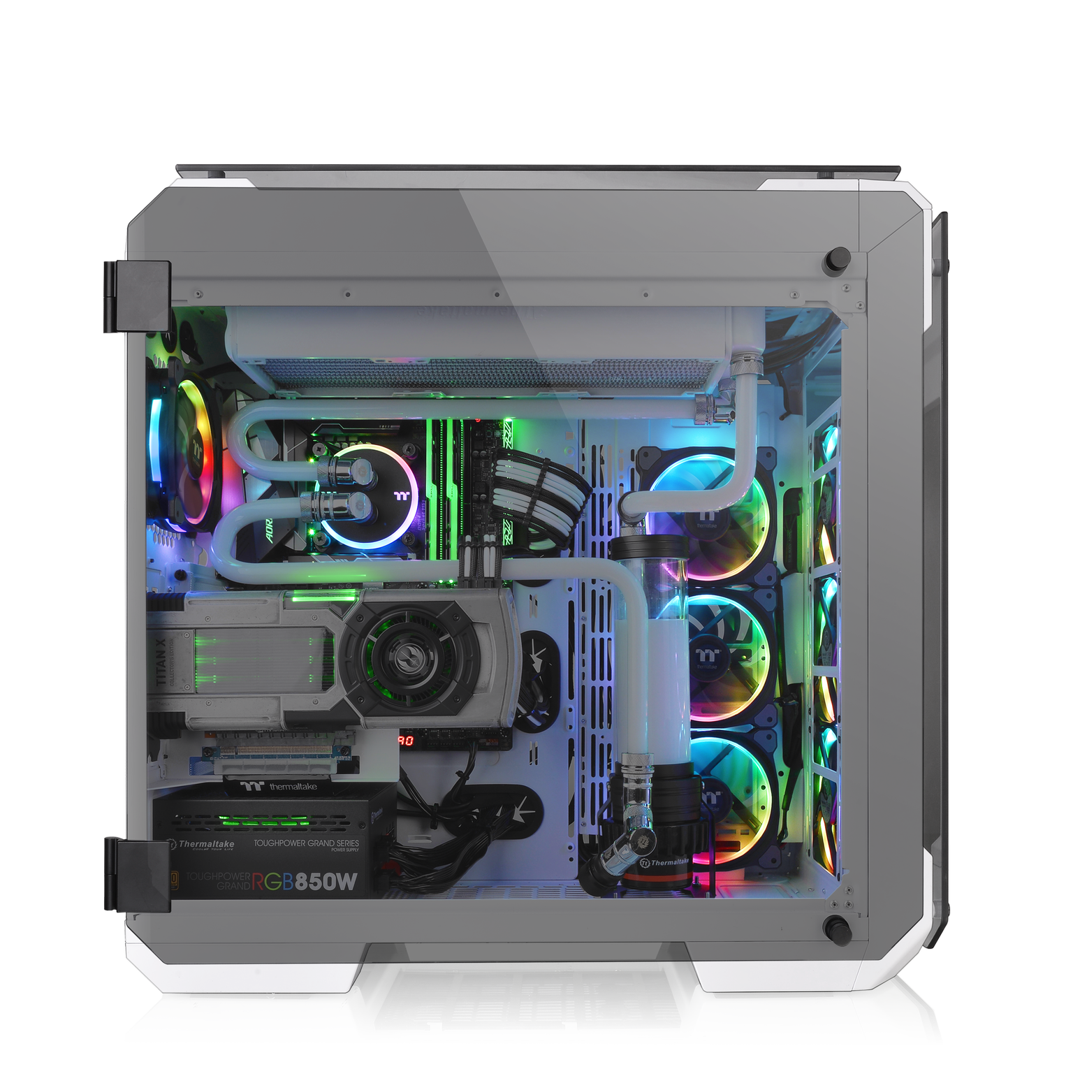 Thermaltake Introduce Il New View 71 Tempered Glass Snow