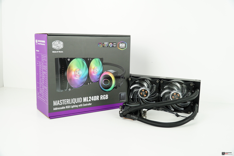 CoolerMaster MasterLiquid ML240R RGB: Recensione  - Hardware Ready