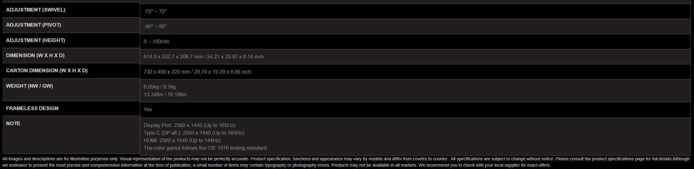 MSI Optix MAG274QRF-QD: 1440P 165HZ Rapid IPS! Recensione ...